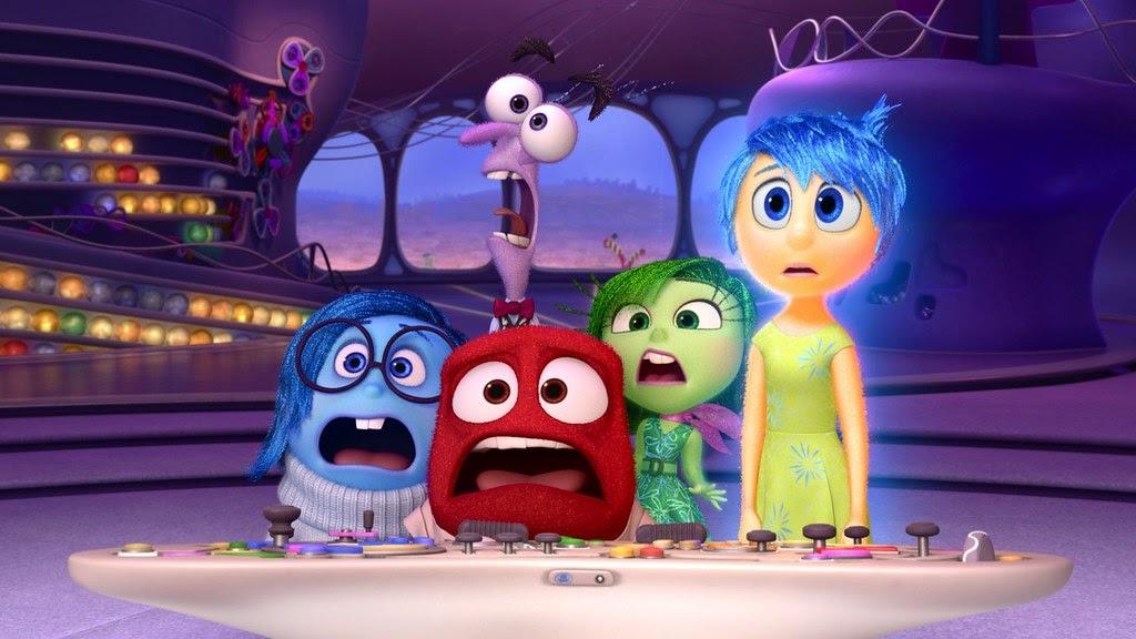 Le emozioni rappresentate nel film Pixar Inside Out