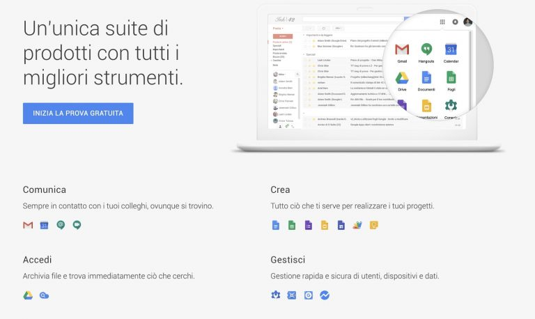 G Suite by Google per smart working in web agency
