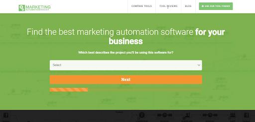 Marketing Automation Insider lead generation